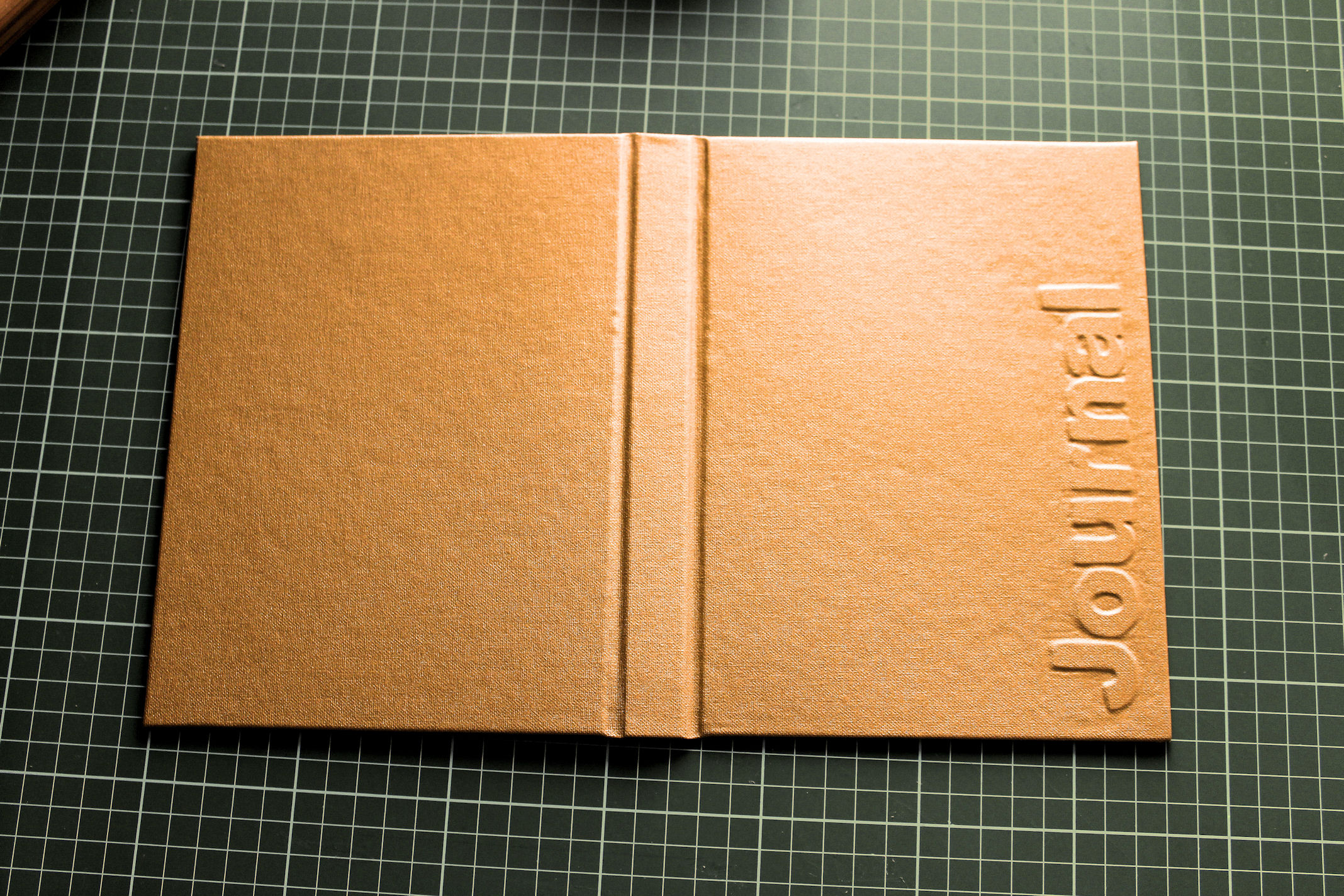 How To Make A Book Cover Cloth ~ A journal cover with raised text doing stuff